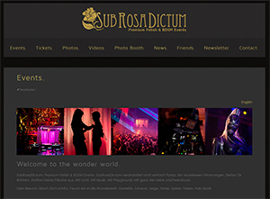 We are live – relaunch SubRosaDictum website